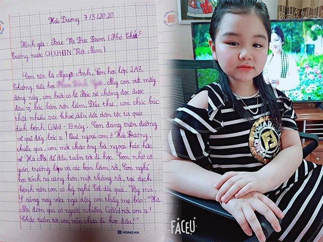 Bé lớp 2 viết thư gửi PTT Vũ Đức Đam, giọng văn làm người lớn cũng phải thán phục