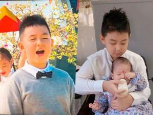 Lê Phương nở mũi vì con trai 8 tuổi: Hát hay như bố dượng, tự lập, giỏi chăm em