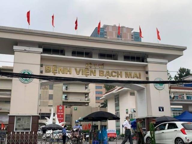 Công bố ca nhiễm COVID-19 từ 175 đến 179, 4 người liên quan đến BV Bạch Mai
