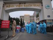 Thêm 9 ca mắc COVID-19, 7 người ở BV Bạch Mai, 1 người ở KĐT Thanh Hà
