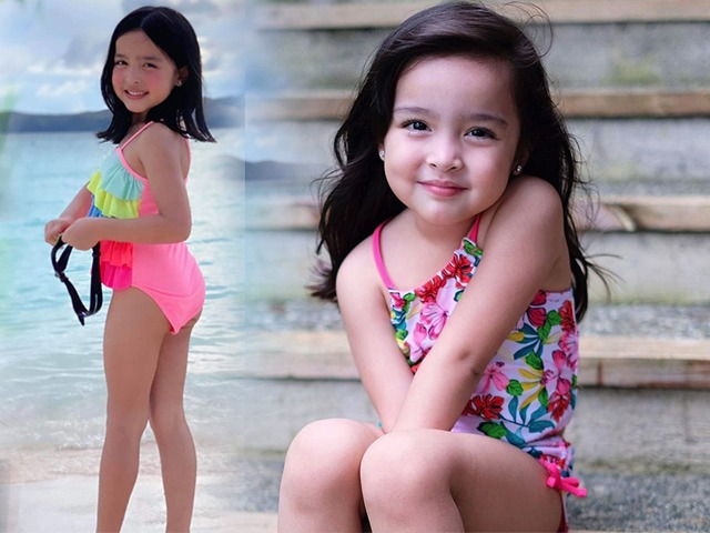 Con gái đệ nhất mỹ nhân Philippines diện bikini khoe chân dài, càng lớn đồ bơi càng hở hang
