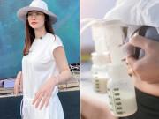 Đi diễn xa ở tỉnh, Đông Nhi không quên nhiệm vụ mẹ bỉm, thành tích vắt sữa đáng nể