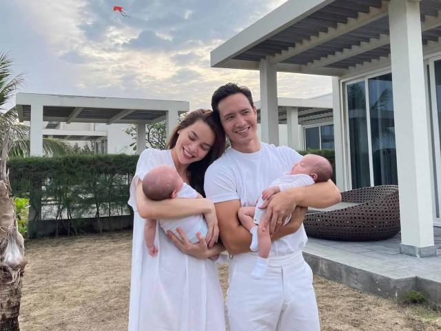 Hồ Ngọc Hà khẳng định 2 con sinh đôi không giống nhau
