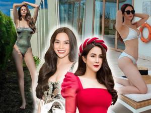 Cuồng khoe dáng hậu sinh nở với bikini, Hà Hồ-Diệp Lâm Anh bị soi loạt khuyết điểm