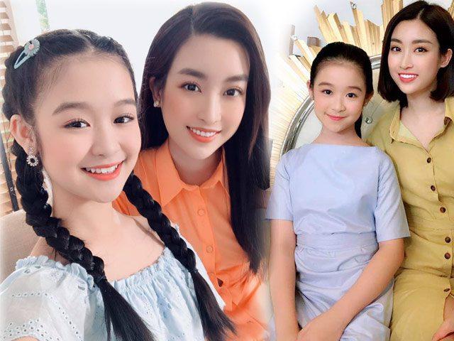 Lần 2 gặp Đỗ Mỹ Linh, bé gái Cần Thơ chuyên đọ sắc Hoa hậu lấn át, khác lần đầu