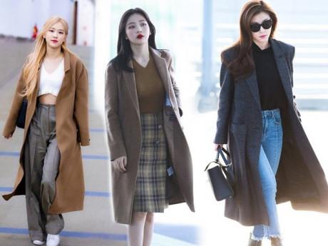 """Áo khoác dạ chính là item được """"sủng"""" nhất nhì mùa rét, nàng muốn mặc sang cứ học sao Hàn"""