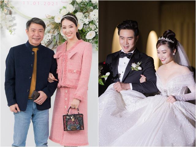 Vợ chồng Công Lý, Huỳnh Anh - Bạch Lan Phương dự đám cưới MC có nụ cười đẹp nhất VTV