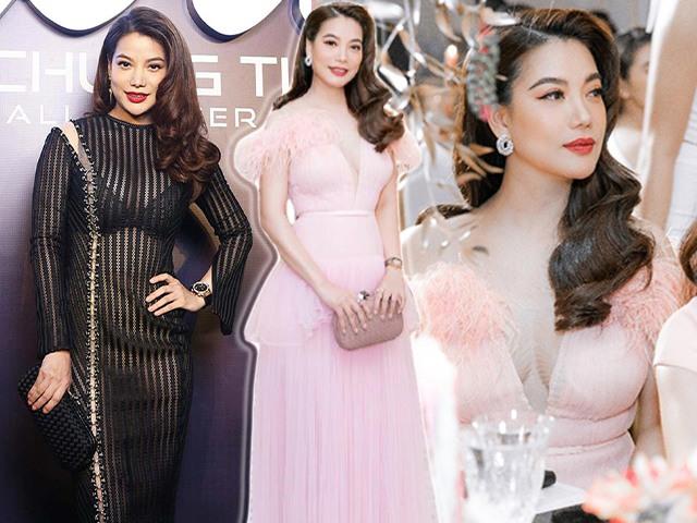 Style chặt chém đôi lúc lận đận, tình cũ Kim Lý U50 đổi váy công chúa đẹp như nữ thần