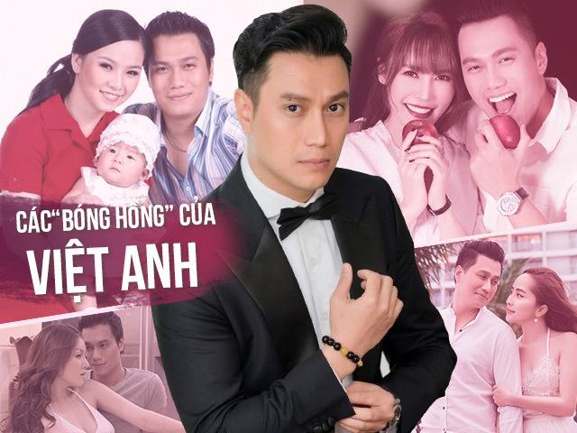 5bóng hồng trong đời Việt Anh: Người là công chúa ngoại quốc, người tìm hạnh phúc ở trời Tây