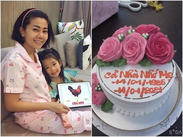 Sinh nhật mẹ đã mất, con gái Mai Phương tự tay chọn bánh viết nghẹn ngào: Cả nhà nhớ mẹ