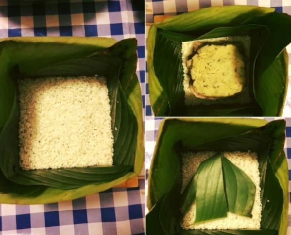 2 cách gói bánh chưng bằng khuôn vuông vắn đẹp mắt - 10