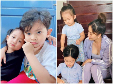 """Khánh Thi từng bị nói """"đáng thương"""" vì đẻ thuê, giờ nhìn 2 đứa trẻ ai cũng suy nghĩ lại"""