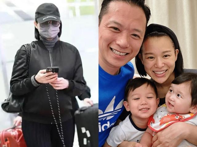 Mang bầu 7 tháng, chị đại TVB vẫn vác bụng đi chạy show, không có chồng bên cạnh