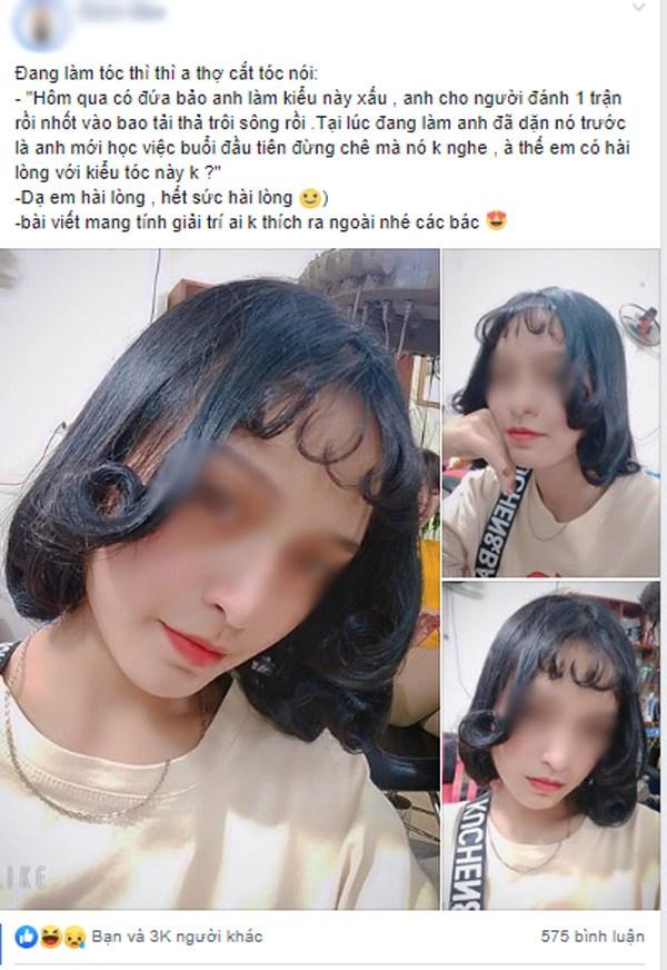 """Làm tóc giống minh tinh thế giới đón Tết, nữ người mẫu nhận lại mái tóc """"mì xào giòn"""""""