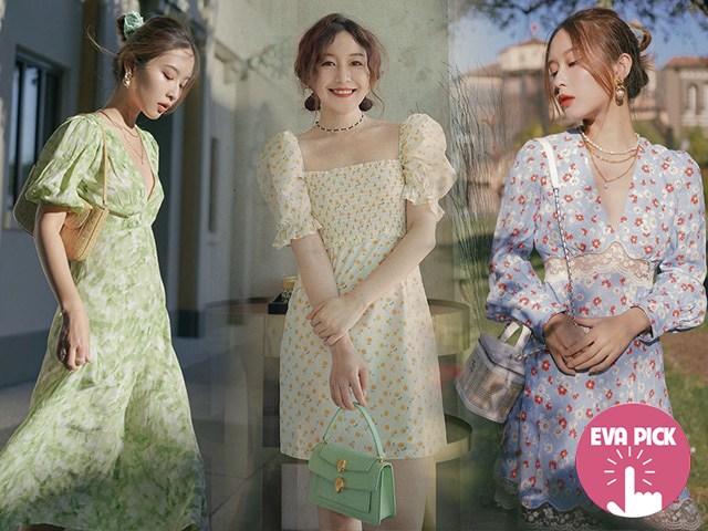 6 mẫu váy liền đẹp nên sắm, nàng mặc dạo phố hay đi chơi Tết khó ai chê điểm nào