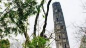 Ngôi chùa nghìn tuổi ở Trung Quốc nghiêng hơn tháp Pisa