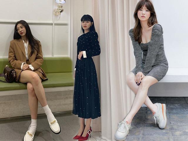 Gọi tên 4 kiểu giày quốc dân hội sao Hàn mê mệt vì phối đồ gì cũng hợp