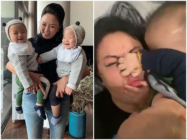 U50 chăm con sinh đôi 1 tuổi, cô hiệu phó Văn Thùy Dương kểcảnh bỉm sữa khốn khổ