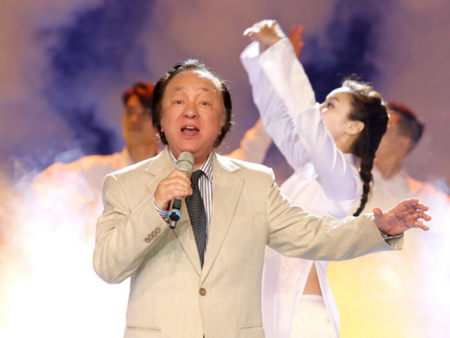Bố ruột nhạc sĩ Quốc Trung - NSND Trung Kiên qua đời ở tuổi 82