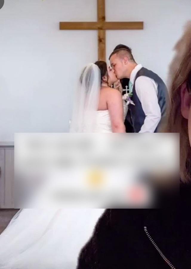 Potret pernikahan Jade dan suaminya (TikTok)