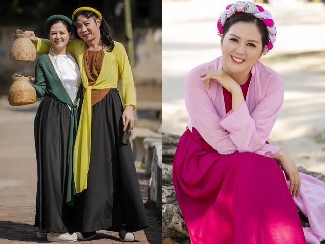 Công Lý hoá cô Cám trong MV Tết của ca sĩ Đinh Hiền Anh