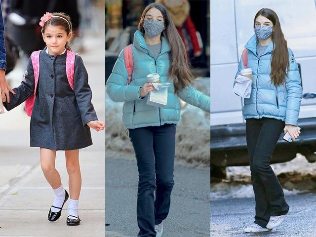 Tom Cruise không cần quan tâm, cô bé Suri nhỏ xinh năm nào đã thực sự trưởng thành