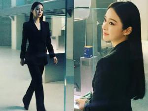 Mẹ 2 con Kim Tae Hee lột xác như soái tỷ, không ai tin sắp bước qua tuổi 40
