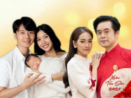 Tết làm dâu của loạt mỹ nhân Việt: Thuý Vân, Sara Lưu ghi điểm với mẹ chồng