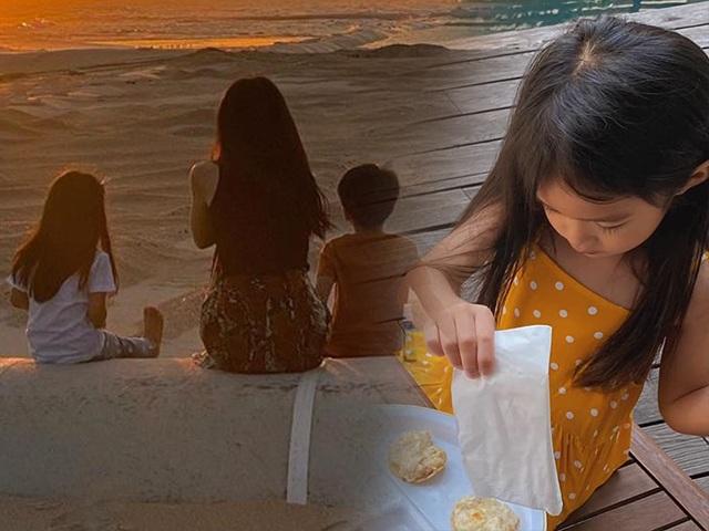 Con gái Tăng Thanh Hà sở hữu mái tóc dài thướt tha chẳng kém mẹ