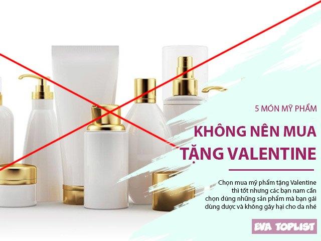 5 món đồ chăm sóc da đừng bạn nam nào dại dột mua tặng bạn gái ngày Valentine