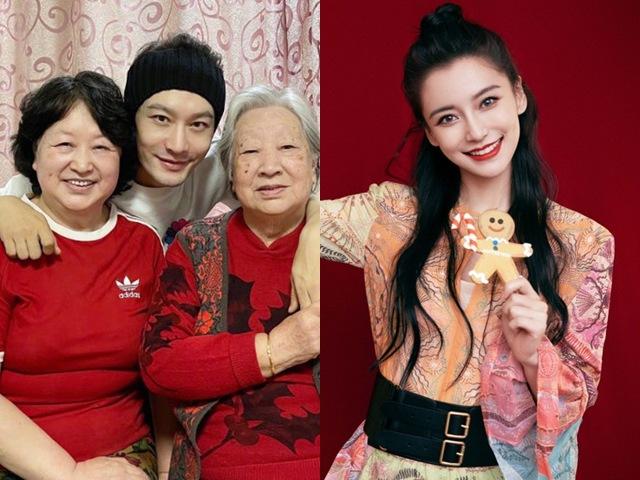 Angelababy tiếp tục không về quê chồng đón Tết, Huỳnh Hiểu Minh một mình ở bên bố mẹ
