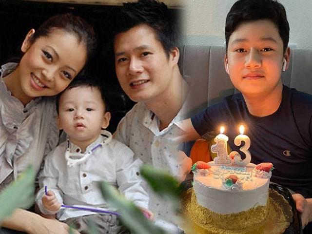 Jennifer Phạm chúc mừng sinh nhật Bảo Nam, cậu bé đã thanh niên, giống y đúc Quang Dũng