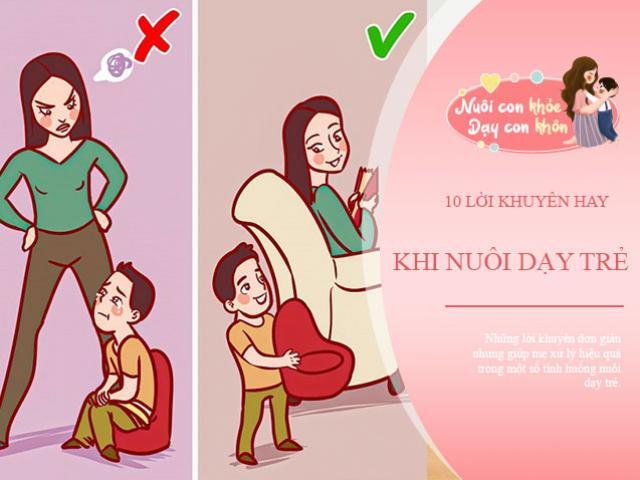 10 sai lầm khi nuôi dạy con mẹ sẽ giật mình khi thấy mình trong đó