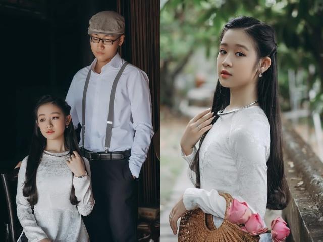 Hoa khôi nhí Tây Đô U13 trổ sắc bên anh trai, ngày soán ngôi Hoa hậu Việt không còn xa