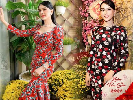 Ai tươi thắm mùa Tết 2021 hơn Lâm Khánh Chi: Chỉ mê váy hoa, mỗi ngày một kiểu