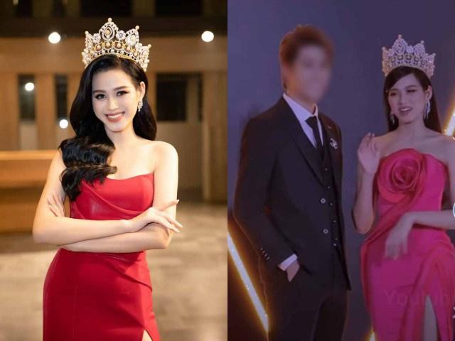 Hoa hậu 10X Đỗ Thị Hà tỏ thái độ khi đồng nghiệp nam đụng chạm trên thảm đỏ