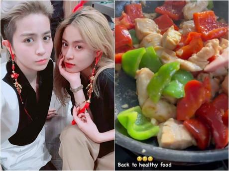 Fan ngưỡng mộ độ tình cảm của Gil Lê - Hoàng Thùy Linh nhờ điểm chung về món ăn