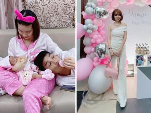 Vừa đẻ 3 tháng, vợ Mạc Văn Khoa lên đồ khoe triệt để dáng nuột của mẹ bỉm sữa