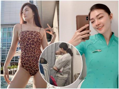 Đồng nghiệp bị chê để mặc trẻ khóc trên máy bay, hotgirl tiếp viên hàng không Việt Nam lý giải