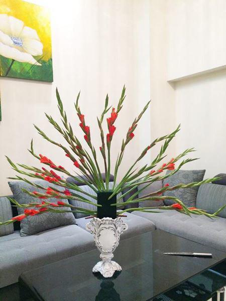 Cách cắm hoa lay ơn ngày Tết đẹp đặt bàn thờ hoặc trang trí - 1
