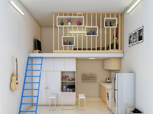 Mẫu nhà gác lửng đẹp, hiện đại nhất 2021 với giá thành rẻ - 8