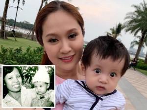 Sao Việt 24h: Thanh Thúy đăng ảnh hồi nhỏ mắt tròn xoe, nhìn giống hệt cu Tết bây giờ