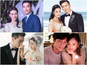 5 cặp chị đại - phi công Cbiz: 4 người kết hôn ồn ào, riêng Trần Kiều Ân không cưới
