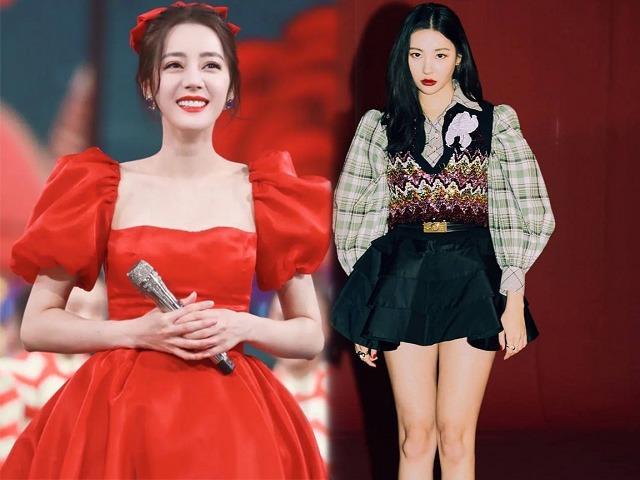 Váy áo tay bong bóng được các sao nữ châu Á lăng xê, vừa thời thượng lại đẹp ngọt ngào