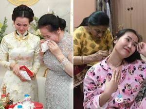 Có bầu sau 2 năm cưới trai Ấn Độ, Võ Hạ Trâm khóc vì hạnh phúc, chồng phản ứng khác