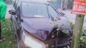 Tai nạn liên hoàn ở Mê Linh: Ô tô đâm nhiều xe máy, người vợ trẻ đã không qua khỏi