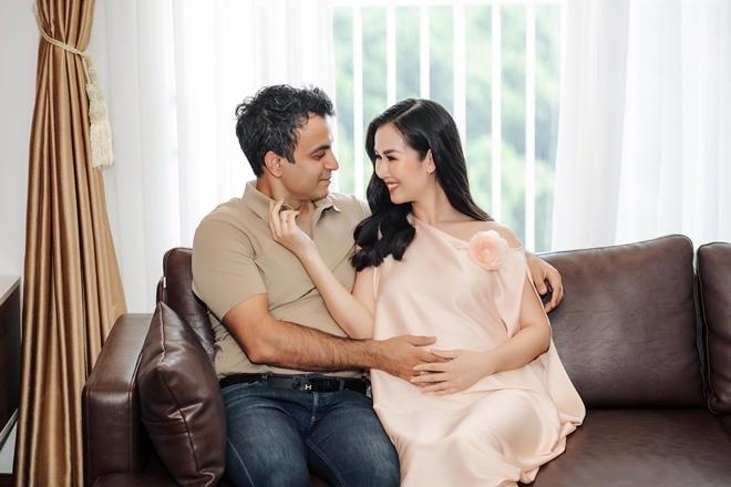 Võ Hạ Trâm có bầu, mẹ chồng Ấn Độ ra mệnh lệnh: Vợ con muốn gì đều phải  chiều hết