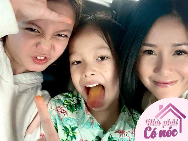 8/3 làm mẹ đơn thân, Hồng Nhung hạnh phúc khoe hai con trưởng thành sau 9 năm