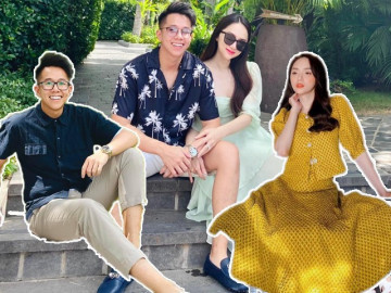 Hương Giang - Matt Liu: Cặp đôi trai tài gái sắc ăn mặc sang chảnh nhất nhì Vbiz