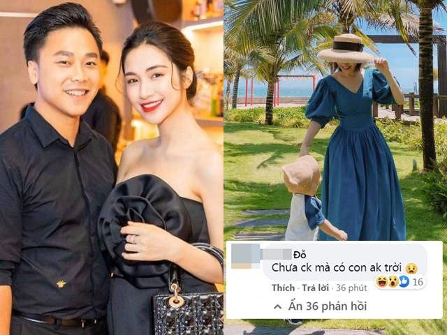 Hoà Minzy đáp trả khi bị bình luận chưa chồng mà có con